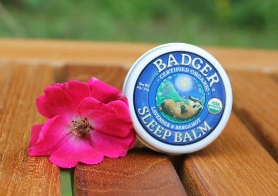 Organic Badger Sleep Balm | Helps my kiddos sleep when summer excitement makes it a struggle