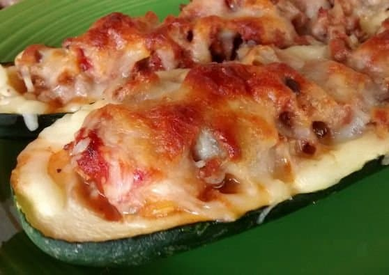 Sausage Stuffed Zucchini Recipe