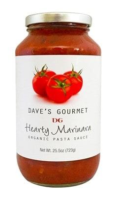 Dave's Gourmet Hearty Marinara Organic Pasta Sauce