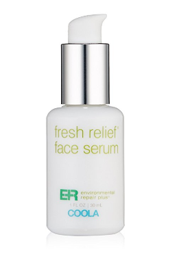 Summer beauty tips and American made products we love: Coola Fresh Relief Face Serum