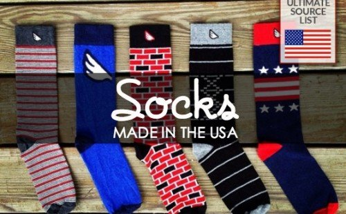 The ultimate source list for socks made in the USA. So many good choices!