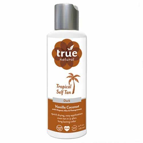 True Natural Self Tanner - non toxic self tanner, made in USA.