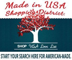 made in USA shopping on USALoveList.com