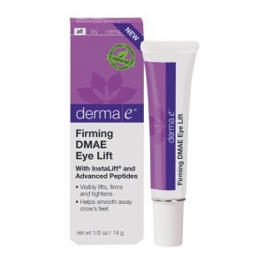 DIY facial routine - eye lift