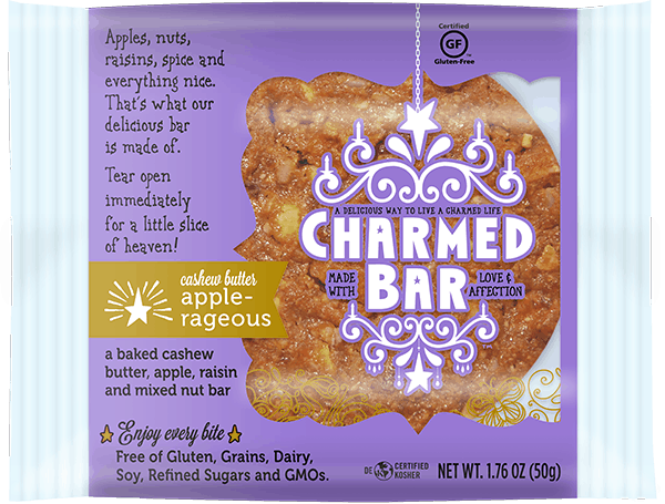 American Made Gluten-Free Snacks and Meals from USALoveListlcom including CharmedBars Baked Bars jpg