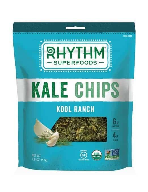 American Made Gluten-Free Snacks and Meals from USALoveListlcom including Rhythm Kale Chips Reviewed