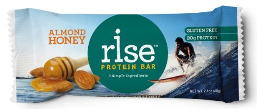 American Made Gluten-Free Snacks and Meals from USALoveListlcom including Rise Protein Bars made with 3 ingredients