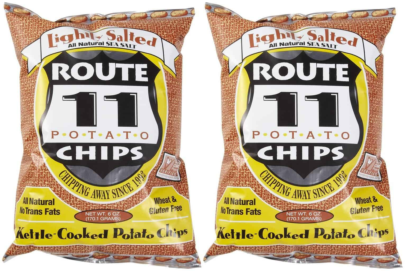 American Made Gluten-Free Snacks and Meals from USALoveListlcom including Route 11 Virginia Made Potato Chips