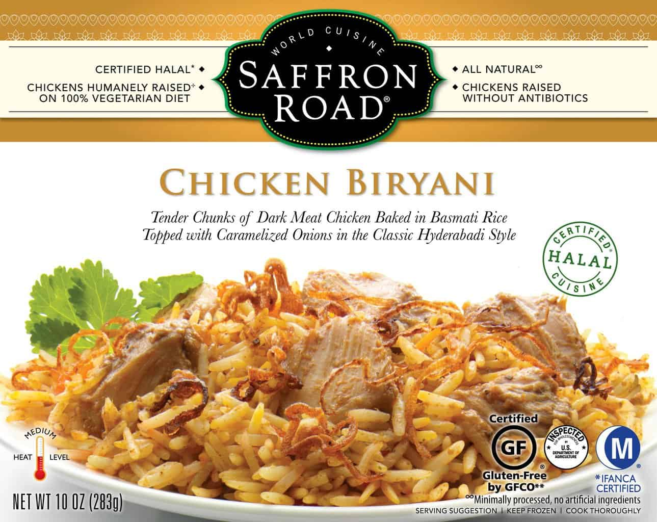American Made Gluten-Free Snacks and Meals from USALoveListlcom including Saffron Road Entrees Reviewed