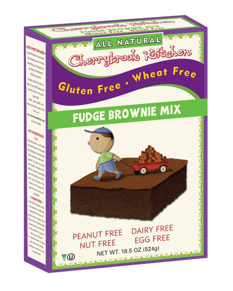 Cherrybrook Kitchen Fudge Brownies Gluten, Soy, Egg and Dairy Free via USALoveList.com