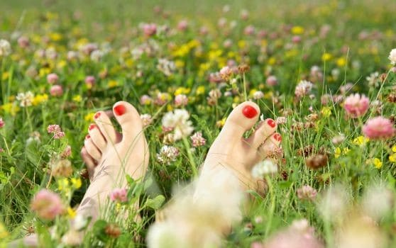 DIY Natural Pedicure Steps