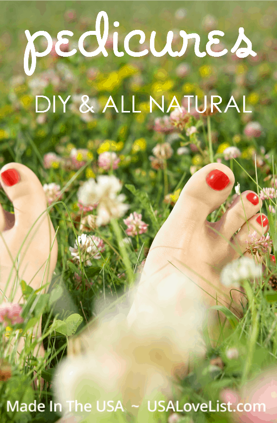 Natural Pedicure Steps | DIY Pedicure
