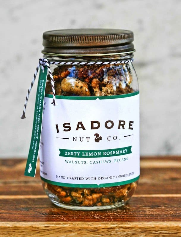 American Made Paleo Gifts - Gluten-, Egg-, Sugar-, Soy- Free Nuts from Isadore Nut Co via USALoveList.com
