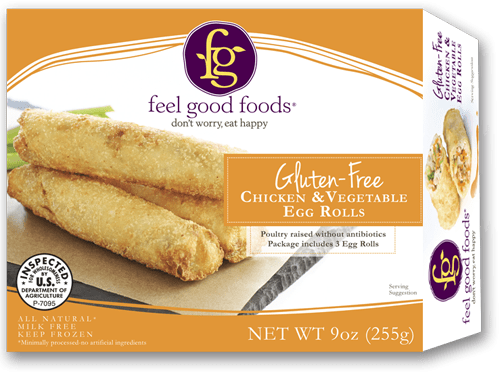 Gluten Free Egg Rolls from feel good foods at Whole Foods - Review on USALoveList.com