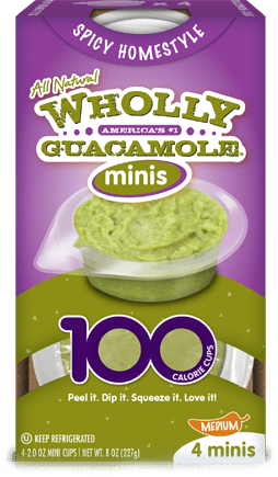 Gluten Free Wholly Guacamole Minis Reviewed on USALoveList.com