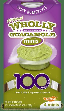 Gluten Free Wholly Guacamole Minis Reviewed on USALoveList.com