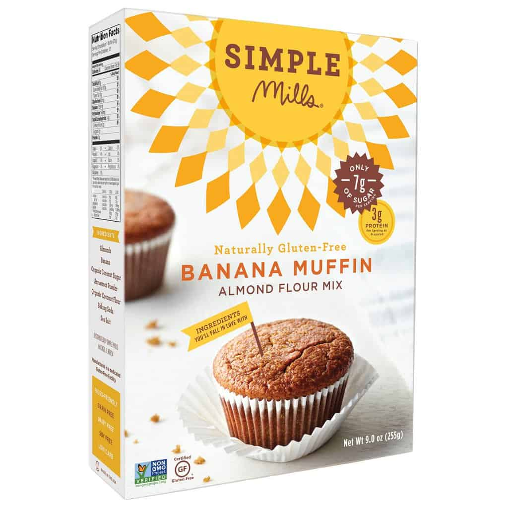 Gluten- and Grain-Free Premade Mixes from Simple Mills via USALoveList.com