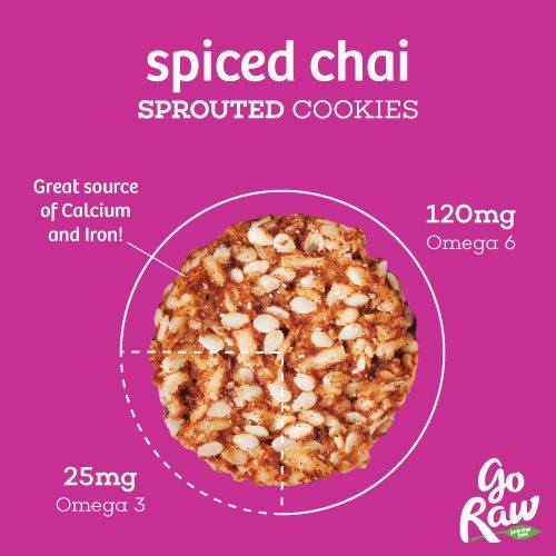 Go Raw Sprouted Spiced Chai Cookies - Gluten Free Review on USALoveList.com