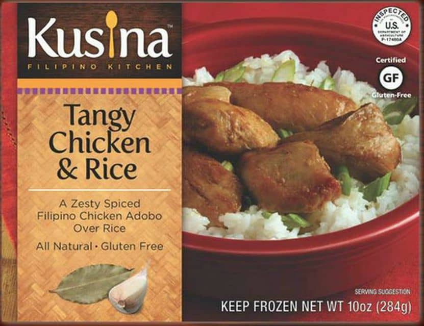 Kusina Gluten Free Adobo Meal via USALoveList.com