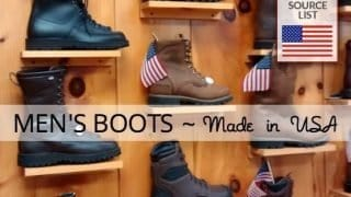 Men's Boots Ultimate Source List: Made in USA Work Boots, Hiking Boots and More