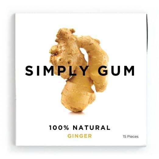 Natural, Vegan Gluten Free Gum by Simply Gum - Reviewed on USALoveList.com