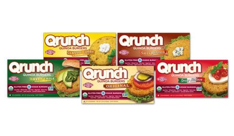 QRUNCH fastest growing veggie burget in the country - reviewed on USALoveList.com