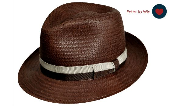 Giveaway: Win The Redway Litestraw Trilby Hat From hats.com