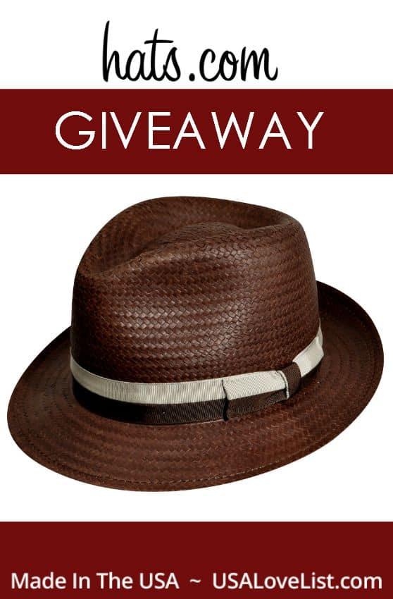 hats.com giveaway Trilby hat