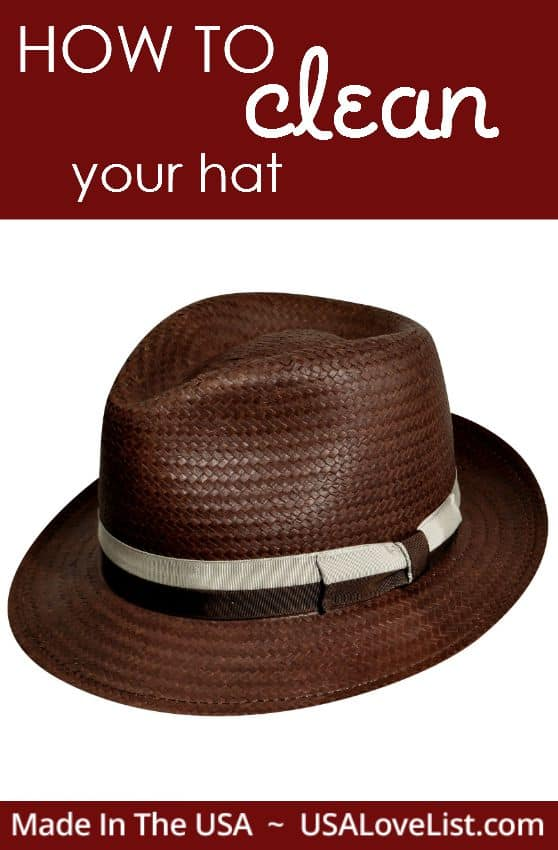 HAT CARE - how to clean your hat, tips from hats.com