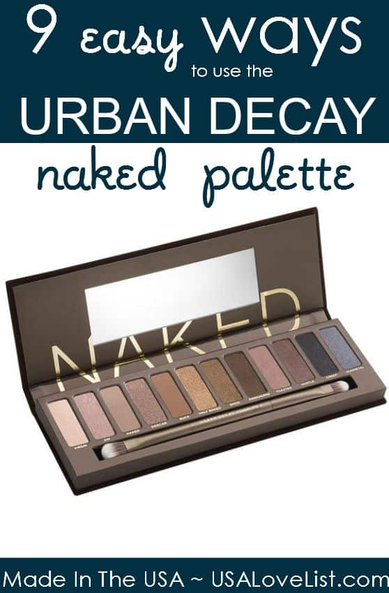 9 Easy Ways To Use The Urban Decay Palette