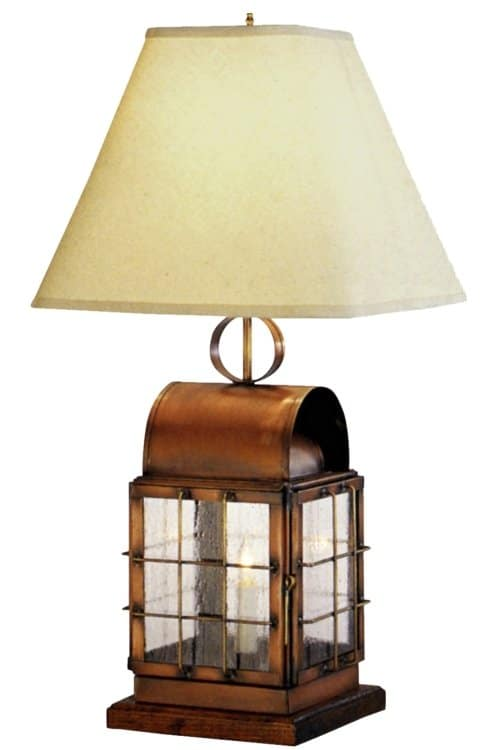 Back Bay Table Lamp by Lanternland | Made in USA Lighting