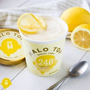 Halo Top Lemon Cake Protein Ice Cream Reviewed