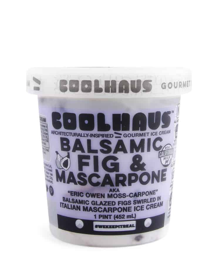 Ice Cream We Love, By Region, Including Coolhaus Balsamic Fig and Mascarpone