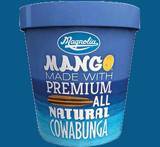 Ice Cream We Love, By Region, Including Magnolia Mango