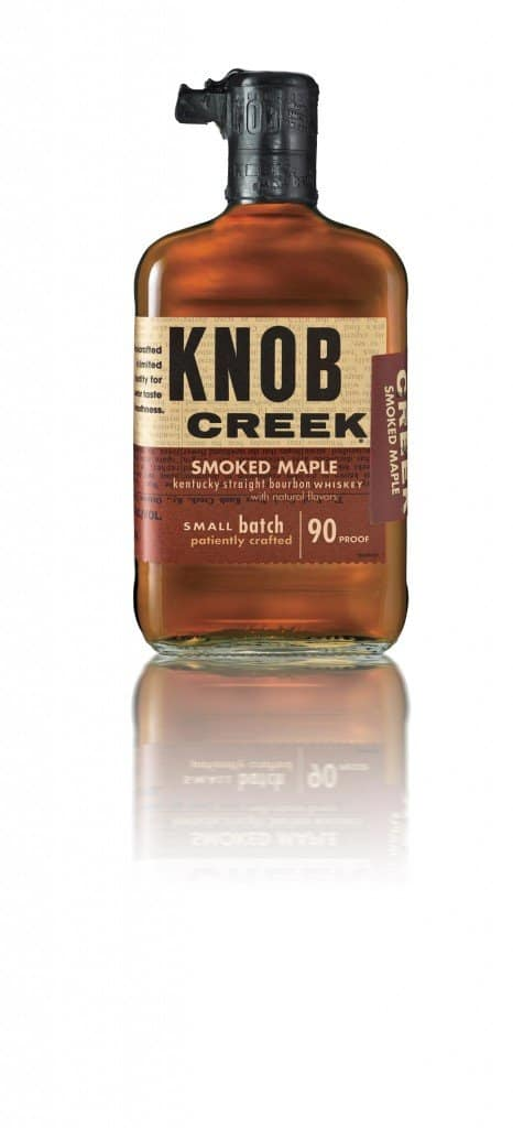 Knob Creek Smoked Maple Bourbon Whiskey Reviewed via USALoveList.com