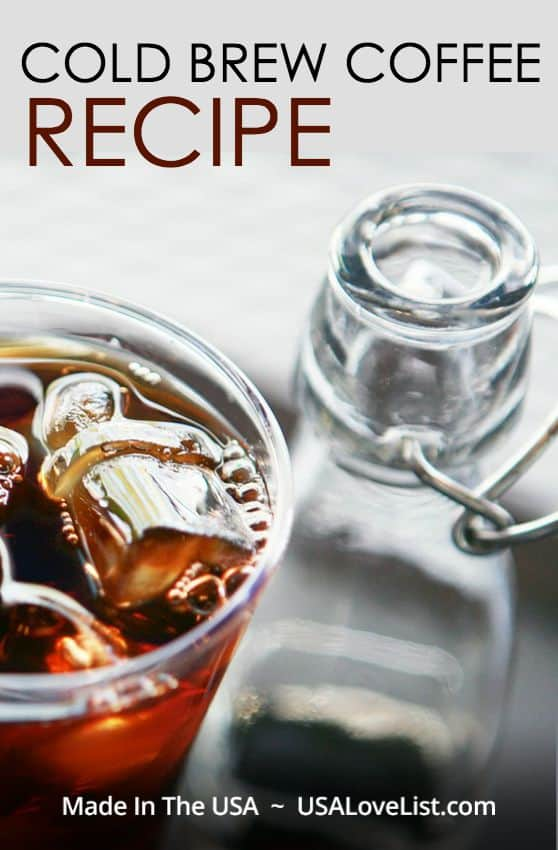 Easy Cold Brew Coffee Recipe plus how to make an iced latte, vietnamese iced coffee, mocha latte, pumpkin spice latte, and more.