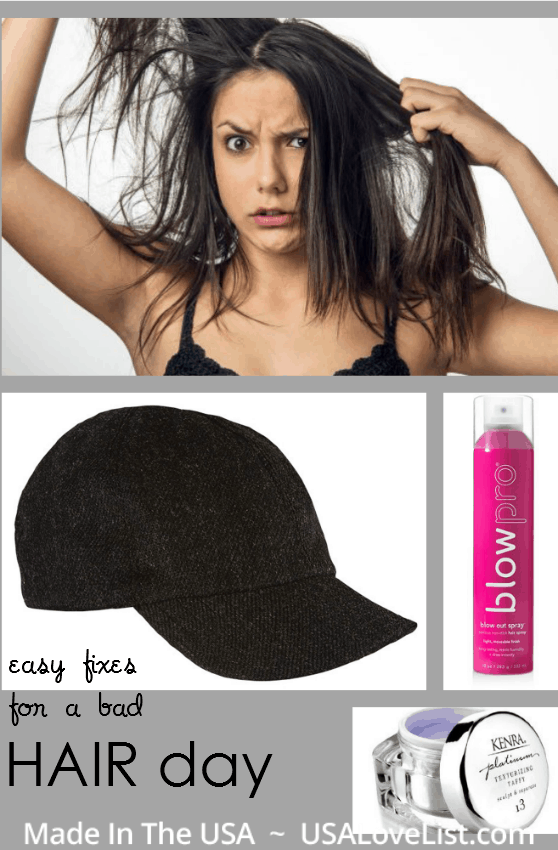easy bad hair day fixes | hats. buns. braids.