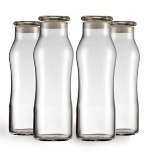 These glass bottles will be perfect for storing or gifting your cold brew coffee concentrate plus they are made in the USA too. Click for a cold brew coffee recipe.