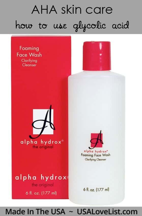 Try Glycolic Aha Effective Anti Aging Ingredient