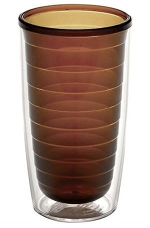 These coffee colored tumblers are the BEST for hot or cold coffee plus they are made in the USA too by Tervis. Click for a cold brew coffee recipe.