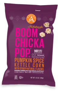 Angies Boomchickapop Pumpkin Spice Kettle Corn - Reviewed on USALoveList.com