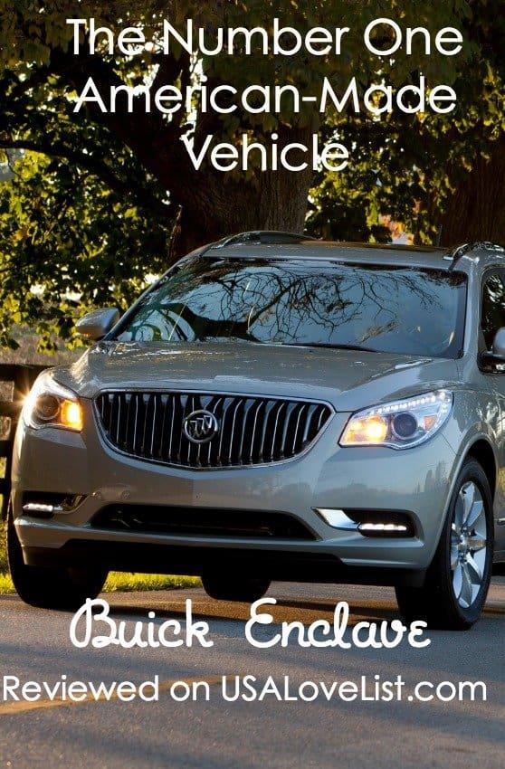 Buick Enclave Reviewed via USALoveList.com