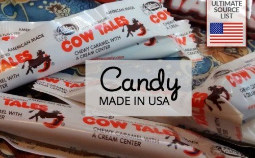 Candy made in USA