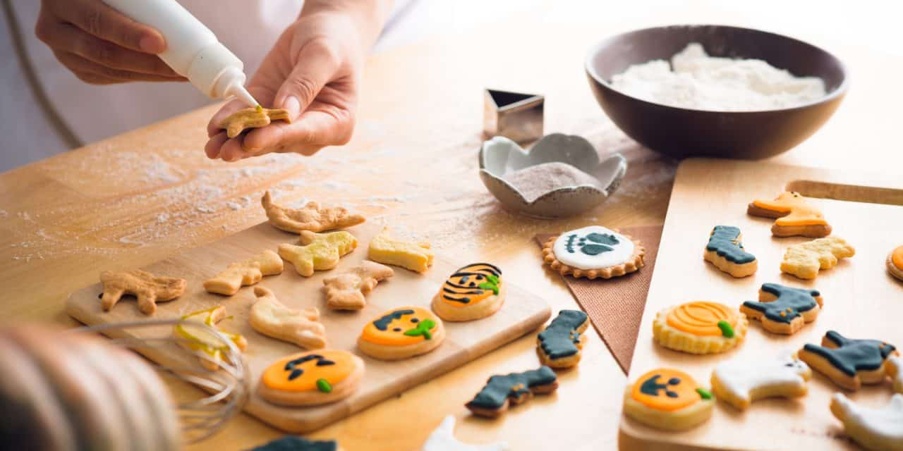 Baking With Kids: Halloween Sugar Cookies Made With Love, and American Made Baking Supplies