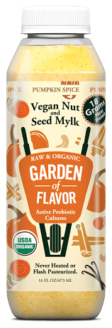 Pumpkin Spice Products made in USA: PumpkiGarden of Flavor Pumpkin Spice Mylk #usalovelisted #pumpkinspice