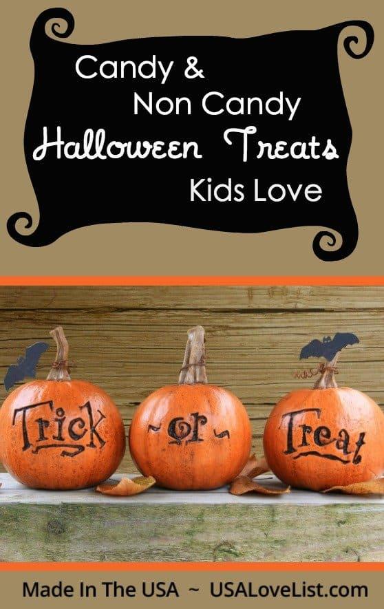 Non Candy Halloween Treats Kids Love | Made in the USA Hallowen