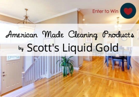 Scott's Liquid Gold Cleaning Products Giveaway