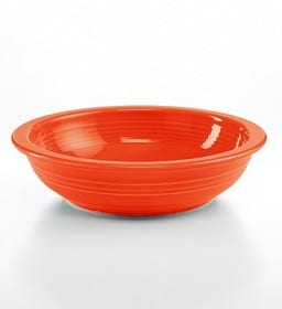 National Pasta Month | Fiestaware past bowl | Made in USA
