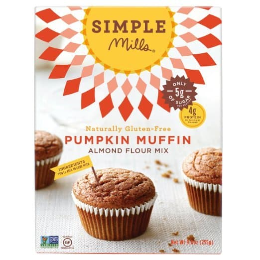 Pumpkin Spice products made in USA: Simple Mills Paleo Pumpkin Spice Muffins #usalovelisted #pumpkinspice