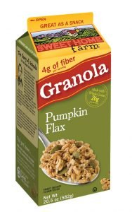 Sweet Home Farm Pumpkin Spice Flax Granola Reviewed
